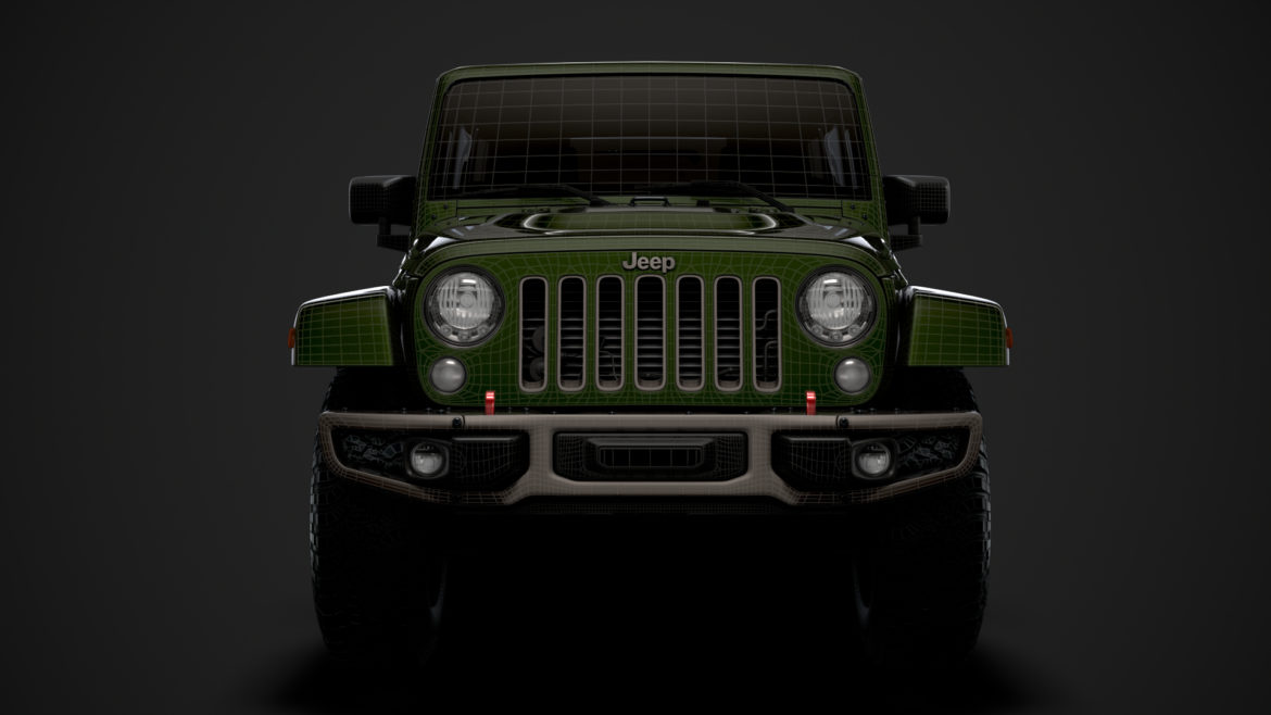 jeep wrangler unlimited 75th anniversary jk 2018 3d model 3ds c4d lwo ma mb 3dm hrc xsi obj 318568