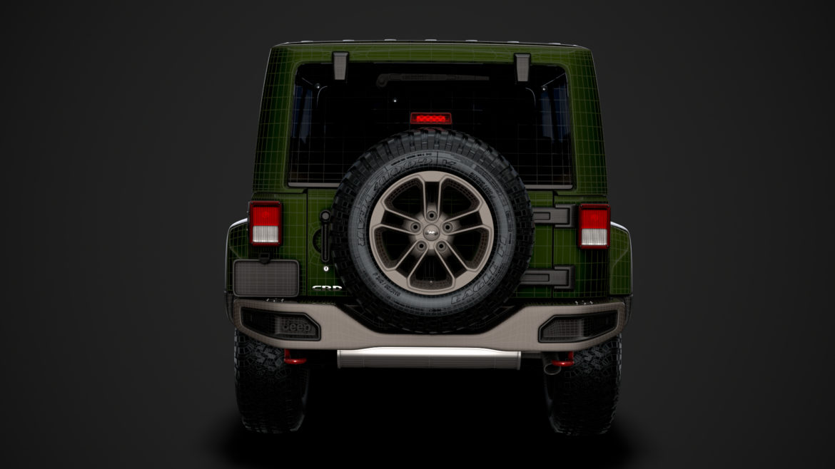 jeep wrangler unlimited 75th anniversary jk 2018 3d model 3ds c4d lwo ma mb 3dm hrc xsi obj 318569