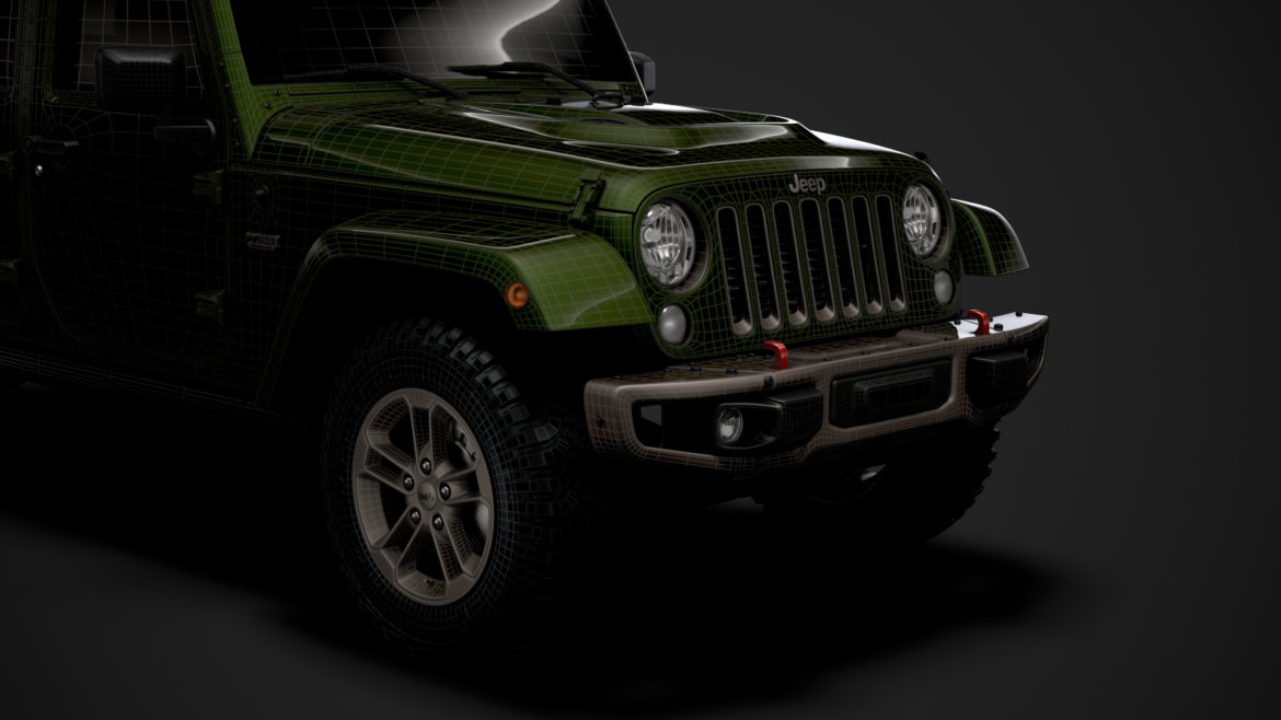 jeep wrangler unlimited 75th anniversary jk 2018 3d model 3ds c4d lwo ma mb 3dm hrc xsi obj 318570