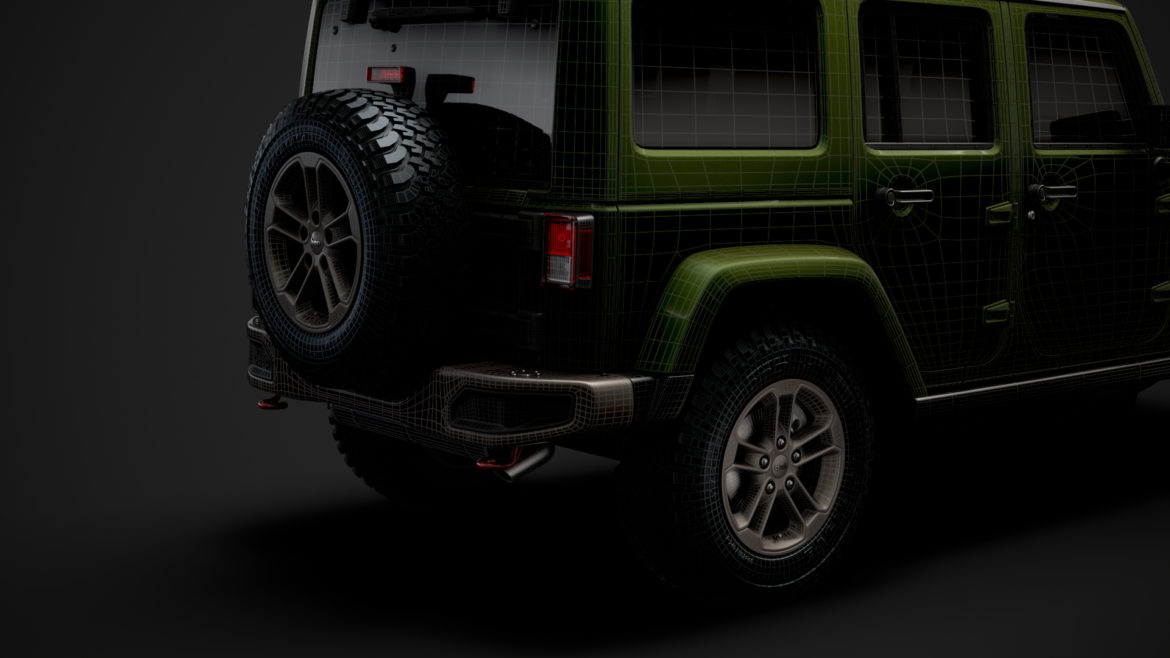 jeep wrangler unlimited 75th anniversary jk 2018 3d model 3ds c4d lwo ma mb 3dm hrc xsi obj 318571