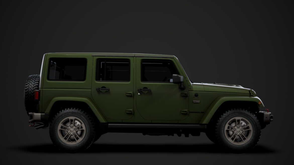 jeep wrangler unlimited 75th anniversary jk 2018 3d model 3ds c4d lwo ma mb 3dm hrc xsi obj 318574