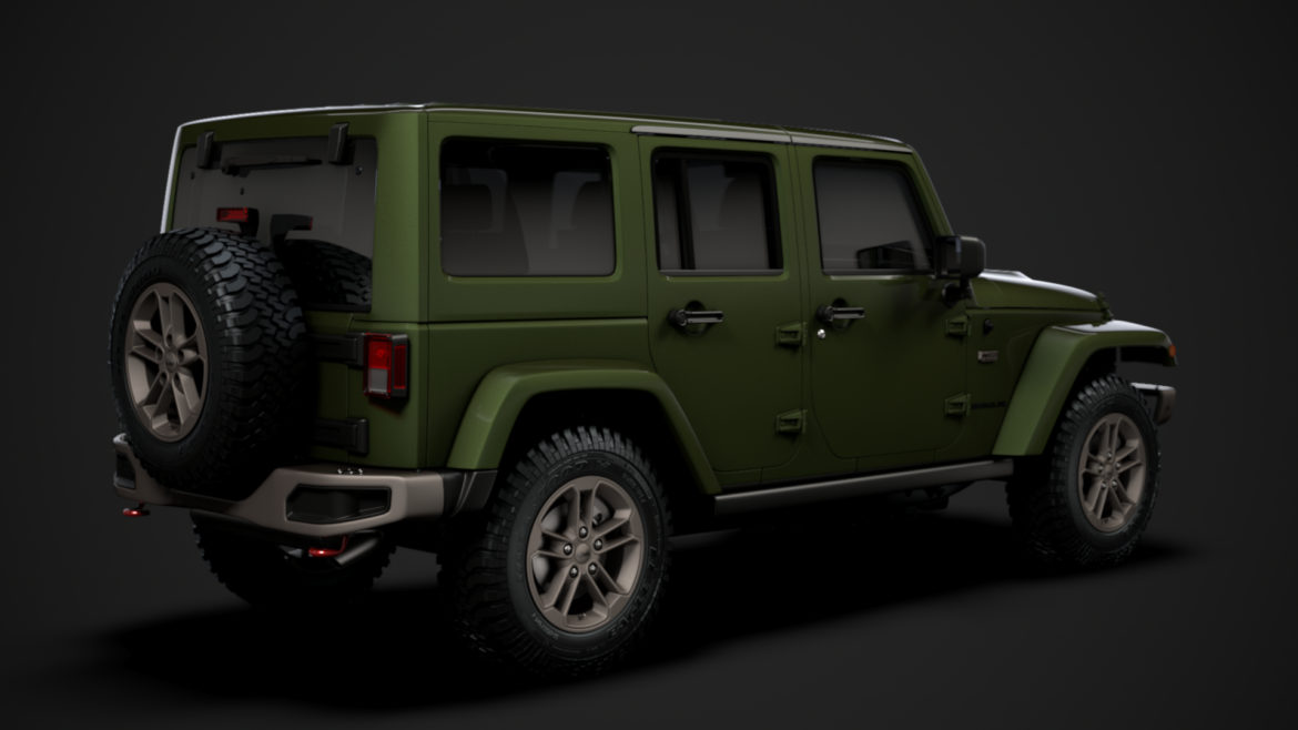 jeep wrangler unlimited 75th anniversary jk 2018 3d model 3ds c4d lwo ma mb 3dm hrc xsi obj 318575
