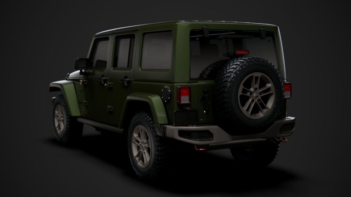 jeep wrangler unlimited 75th anniversary jk 2018 3d model 3ds c4d lwo ma mb 3dm hrc xsi obj 318576