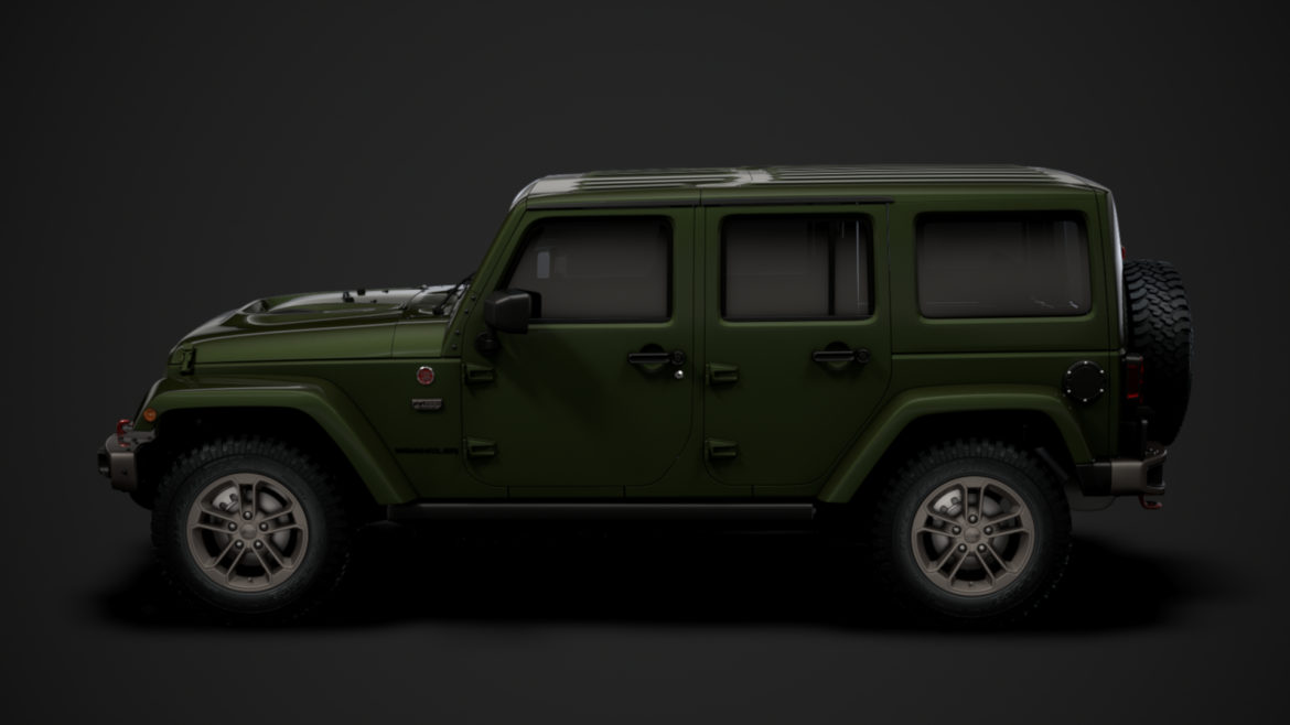 jeep wrangler unlimited 75th anniversary jk 2018 3d model 3ds c4d lwo ma mb 3dm hrc xsi obj 318577