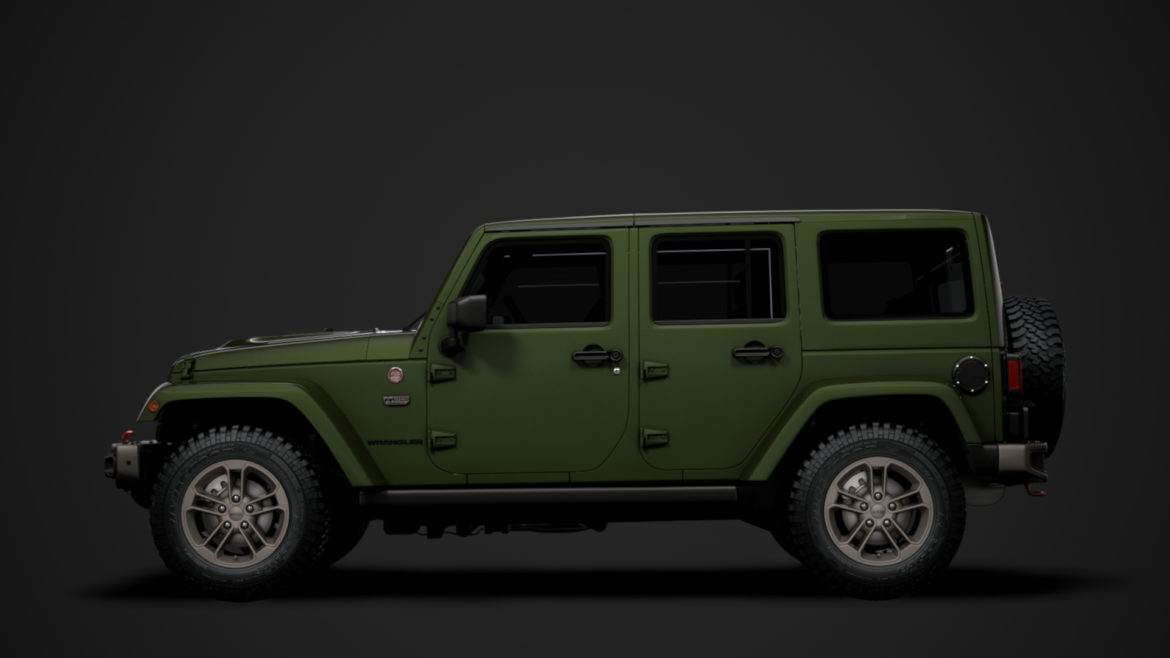 jeep wrangler unlimited 75th anniversary jk 2018 3d model 3ds c4d lwo ma mb 3dm hrc xsi obj 318578