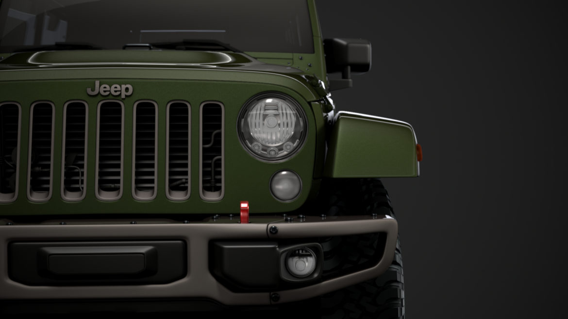jeep wrangler unlimited 75th anniversary jk 2018 3d model 3ds c4d lwo ma mb 3dm hrc xsi obj 318579