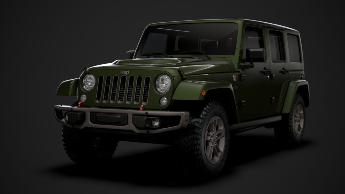 jeep wrangler unlimited 75th anniversary jk 2018 3d model 3ds c4d lwo ma mb 3dm hrc xsi obj 318581