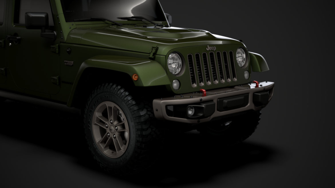 jeep wrangler unlimited 75th anniversary jk 2018 3d model 3ds c4d lwo ma mb 3dm hrc xsi obj 318584