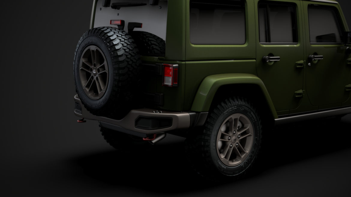 jeep wrangler unlimited 75th anniversary jk 2018 3d model 3ds c4d lwo ma mb 3dm hrc xsi obj 318585