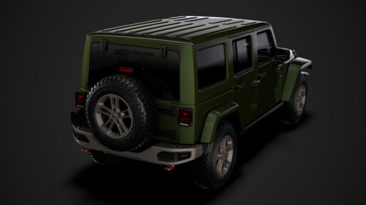 jeep wrangler unlimited 75th anniversary jk 2018 3d model 3ds c4d lwo ma mb 3dm hrc xsi obj 318586
