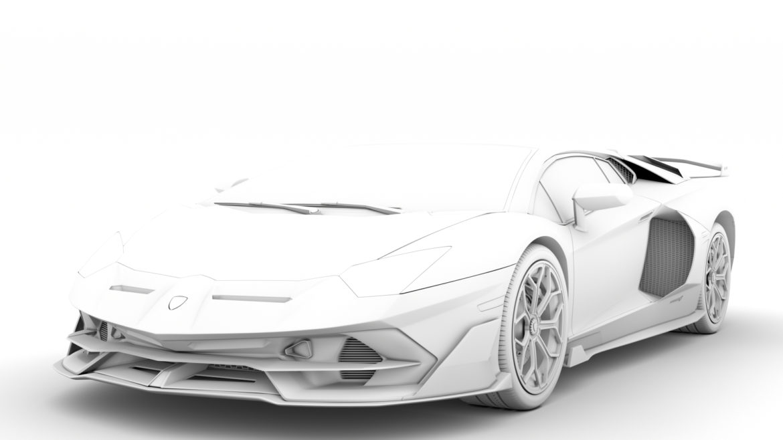 lamborghini aventador svj 2020 3d model 3ds max fbx c4d lwo ma mb 3dm hrc xsi obj 318625