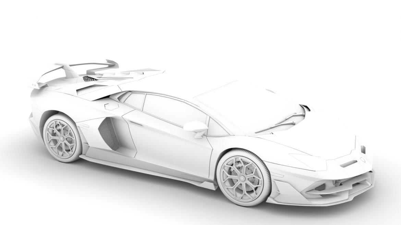lamborghini aventador svj 2020 3d model 3ds max fbx c4d lwo ma mb 3dm hrc xsi obj 318629