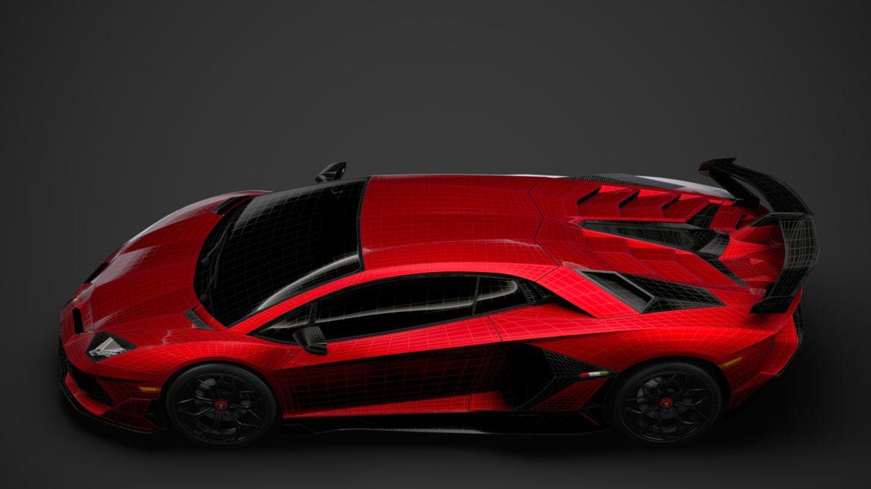 lamborghini aventador svj 2020 3d model 3ds max fbx c4d lwo ma mb 3dm hrc xsi obj 318637