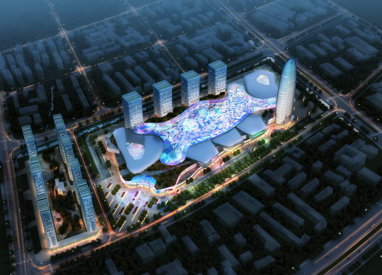 city shopping mall 036 3d model max 318775