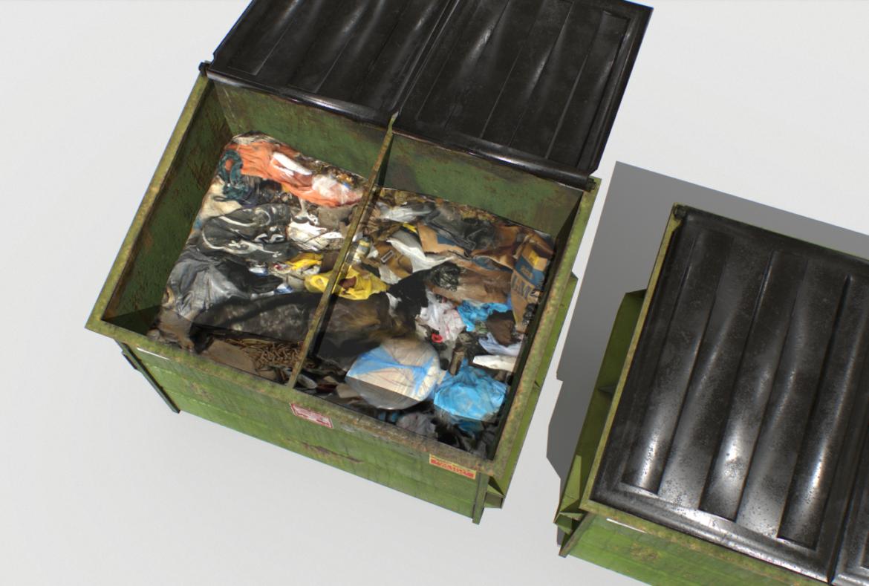 dumpster pack 3d model fbx obj 319259