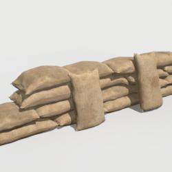 торби за пакување 1 3Д модел fbx obj 319315