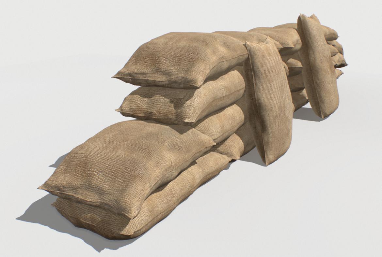 bags pack 1 3d model fbx obj 319319