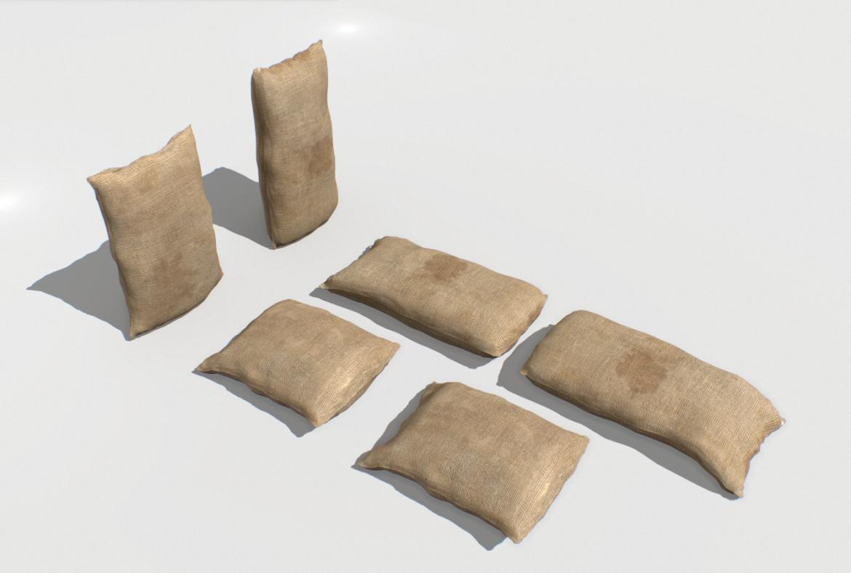 bags pack 1 3d model fbx obj 319321