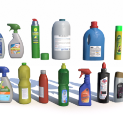 cleaning products pbr 3d model fbx obj 319352