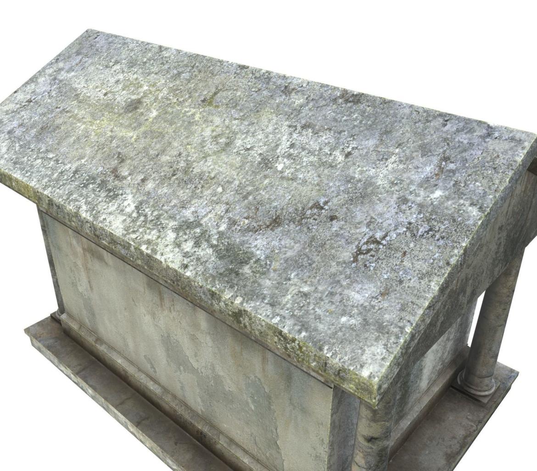 mausoleum pbr 3d model fbx obj 319359