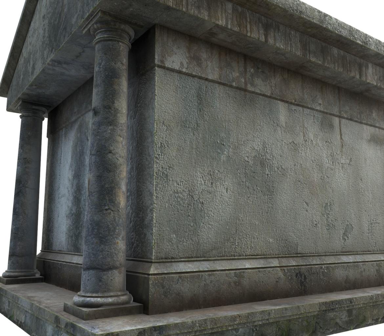 mausoleum pbr 3d model fbx obj 319360