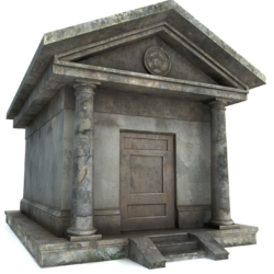 mausoleum pbr 3d model fbx obj 319362