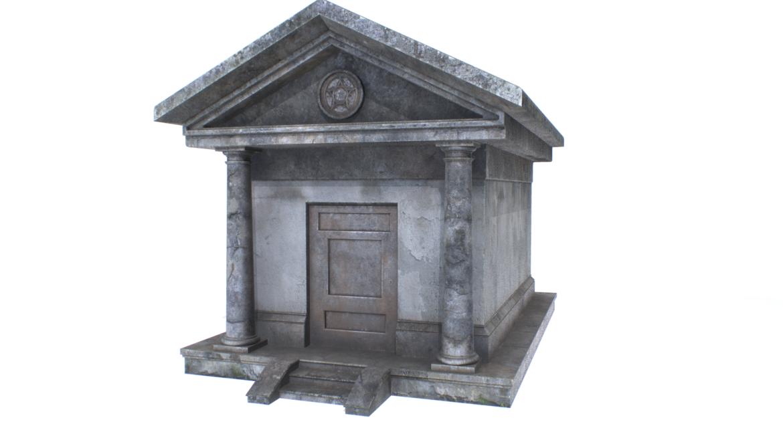 mausoleum pbr 3d model fbx obj 319364
