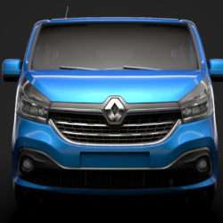 renault trafic spaceclass 2019 model 3d 3ds fbx c4d lwo ma mb hrc xsi obj 319390