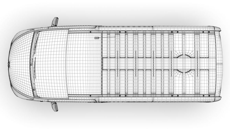 renault trafic spaceclass lwb 2019 3d model 3ds max fbx c4d lwo ma mb hrc xsi obj 319423