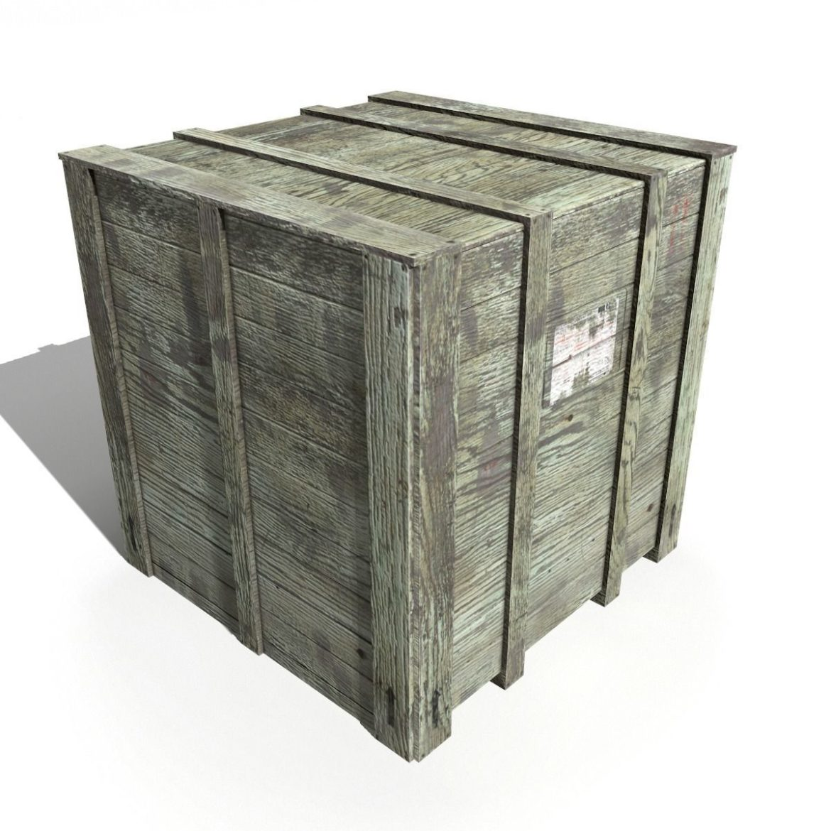 transport crates pack 3 3d model fbx obj 319437