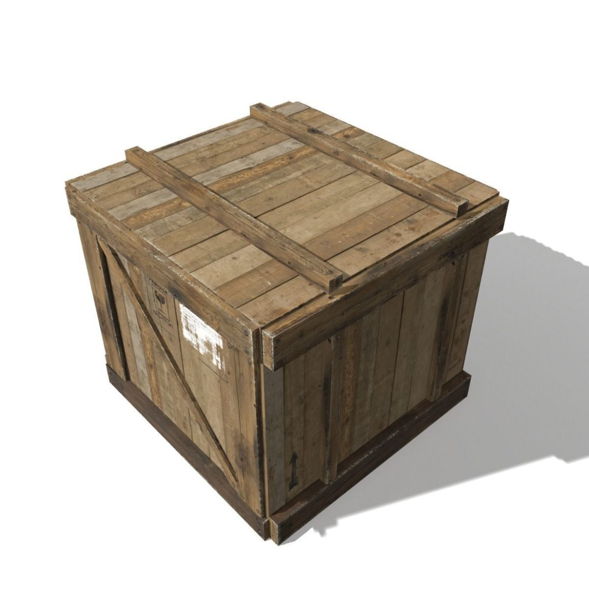 transport crates pack 3 3d model fbx obj 319438