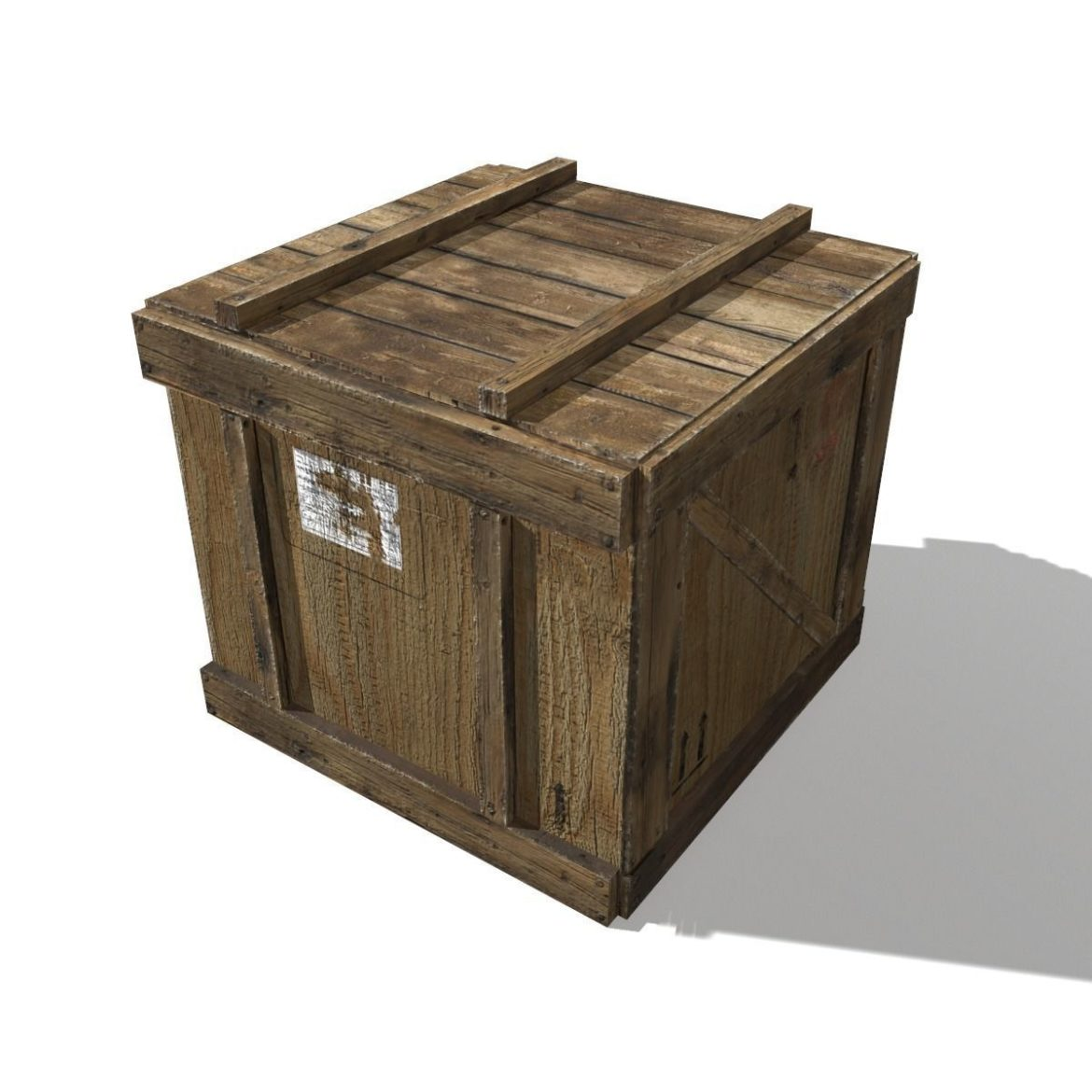 transport crates pack 3 3d model fbx obj 319439