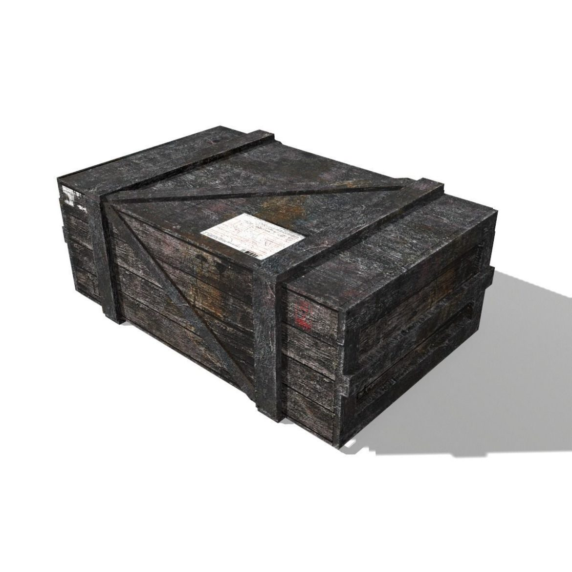 transport crates pack 3 3d model fbx obj 319441