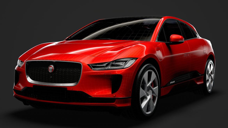 jaguar i pace ev400 adw se 2019 3d model 3ds max fbx c4d lwo ma mb 3dm hrc xsi obj 319856