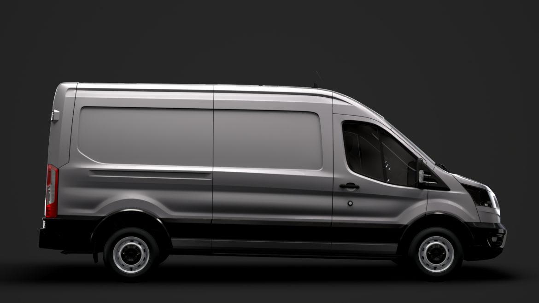 ford transit van 350 l3h2 leader 2020 3d model 3ds max fbx c4d lwo ma mb 3dm hrc xsi obj 319880