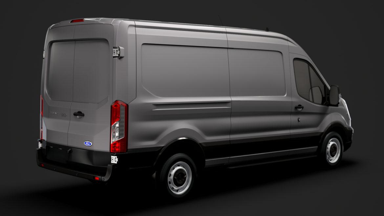 ford transit van 350 l3h2 leader 2020 3d model 3ds max fbx c4d lwo ma mb 3dm hrc xsi obj 319881