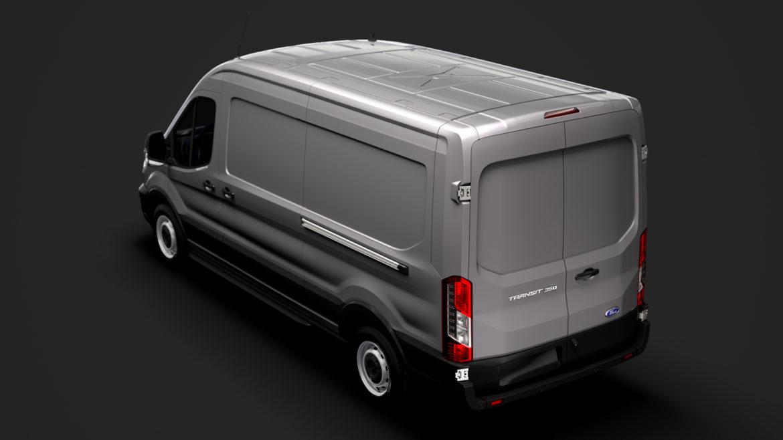 ford transit van 350 l3h2 leader 2020 3d model 3ds max fbx c4d lwo ma mb 3dm hrc xsi obj 319884