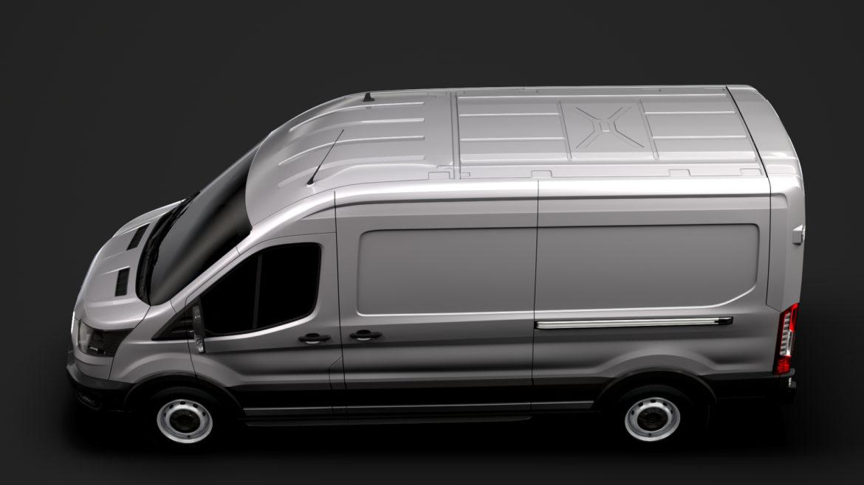 ford transit van 350 l3h2 leader 2020 3d model 3ds max fbx c4d lwo ma mb 3dm hrc xsi obj 319885