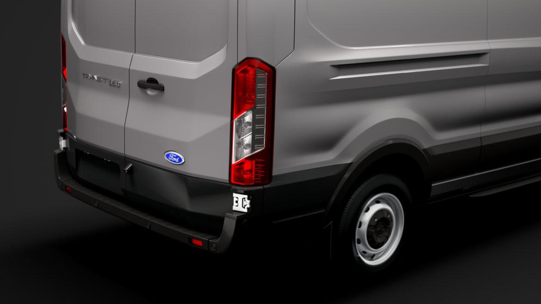 ford transit van 350 l3h2 leader 2020 3d model 3ds max fbx c4d lwo ma mb 3dm hrc xsi obj 319891