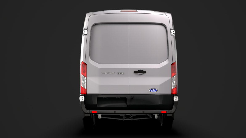 ford transit van 350 l3h2 leader 2020 3d model 3ds max fbx c4d lwo ma mb 3dm hrc xsi obj 319894