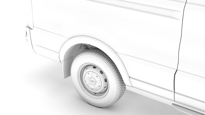 ford transit van 350 l3h2 leader 2020 3d model 3ds max fbx c4d lwo ma mb 3dm hrc xsi obj 319906