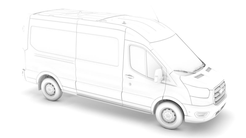 ford transit van 350 l3h2 leader 2020 3d model 3ds max fbx c4d lwo ma mb 3dm hrc xsi obj 319907