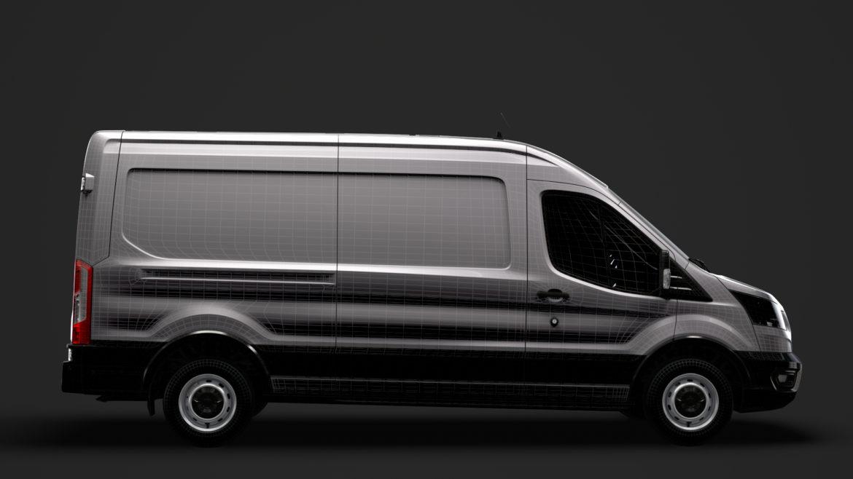 ford transit van 350 l3h2 leader 2020 3d model 3ds max fbx c4d lwo ma mb 3dm hrc xsi obj 319912