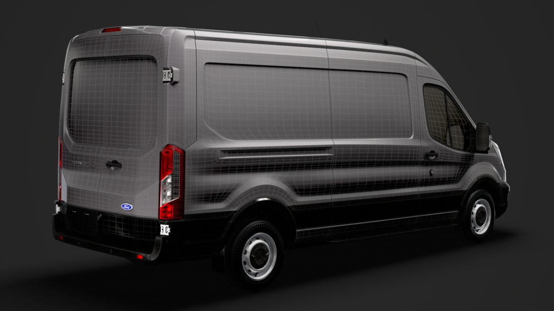 ford transit van 350 l3h2 leader 2020 3d model 3ds max fbx c4d lwo ma mb 3dm hrc xsi obj 319913
