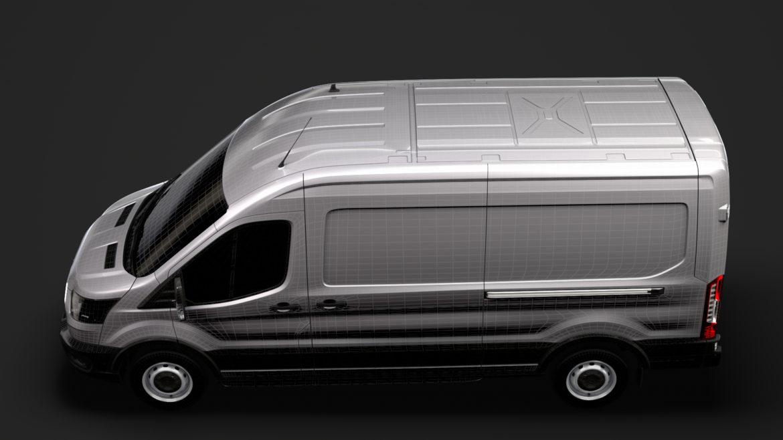 ford transit van 350 l3h2 leader 2020 3d model 3ds max fbx c4d lwo ma mb 3dm hrc xsi obj 319915