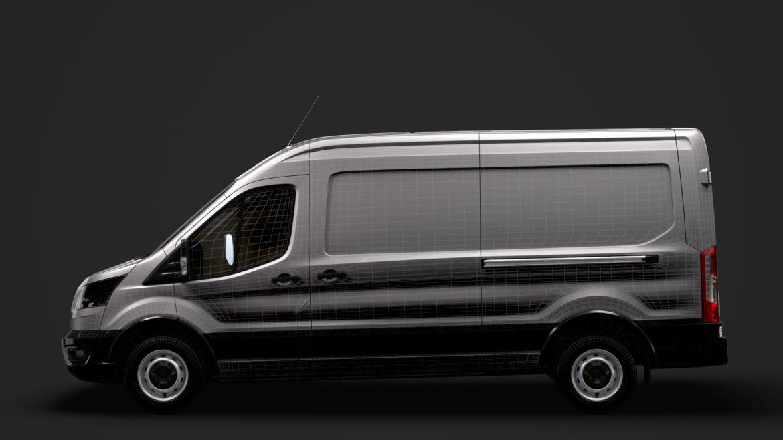 ford transit van 350 l3h2 leader 2020 3d model 3ds max fbx c4d lwo ma mb 3dm hrc xsi obj 319916