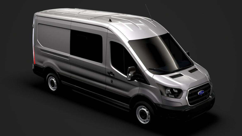 ford transit van 350 l3h2 leader dciv 2020 3d model 3ds max fbx c4d lwo ma mb 3dm hrc xsi obj 319936