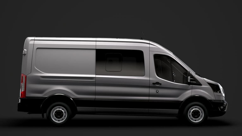 ford transit van 350 l3h2 leader dciv 2020 3d model 3ds max fbx c4d lwo ma mb 3dm hrc xsi obj 319937