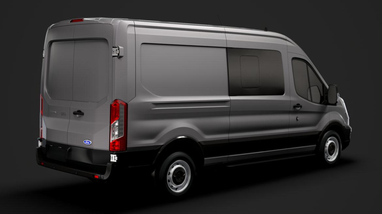 ford transit van 350 l3h2 leader dciv 2020 3d model 3ds max fbx c4d lwo ma mb 3dm hrc xsi obj 319938