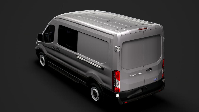 ford transit van 350 l3h2 leader dciv 2020 3d model 3ds max fbx c4d lwo ma mb 3dm hrc xsi obj 319941